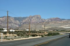 Paisaje majestuoso de la montaña foto de archivo libre de regalías