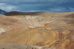 Paisaje marciano Fotos de archivo libres de regalías
