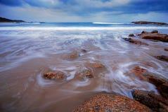 Paisaje marino Fotos de archivo