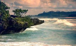 Paisaje marino Fotos de archivo libres de regalías