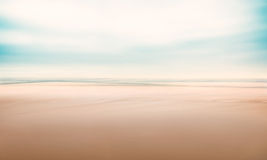 Paisaje marino abstracto minimalista Fotos de archivo libres de regalías