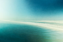 Paisaje marino abstracto texturizado Foto de archivo libre de regalías