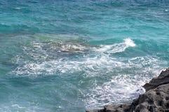 Paisaje marino azul hermoso. Imágenes de archivo libres de regalías