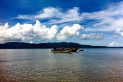 Paisaje marino de Andaman Imagenes de archivo