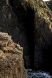 Paisaje marino de Cornualles Imagenes de archivo