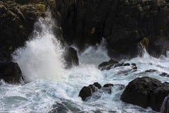 Paisaje marino de Cornualles Foto de archivo