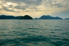 Paisaje marino de Koh Chang Fotos de archivo libres de regalías