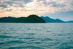 Paisaje marino de Koh Chang Fotografía de archivo libre de regalías