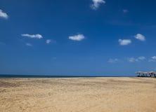 Paisaje marino de la foto en el Océano Índico en Sri Lanka imagen de archivo libre de regalías