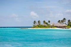 Paisaje marino de Maldives imagen de archivo libre de regalías