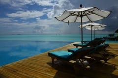 Paisaje marino de Maldives Imagen de archivo