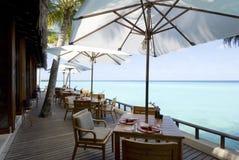 Paisaje marino de Maldives Fotos de archivo libres de regalías