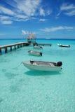 Paisaje marino de Polinesia Fotografía de archivo libre de regalías