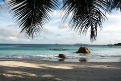 Paisaje marino de Seychelles. fotografía de archivo