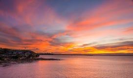 Paisaje marino de Sydney Foto de archivo
