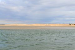 Paisaje marino del área de Addo Elephant National Park, Suráfrica imagen de archivo libre de regalías