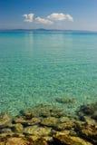 Paisaje marino egeo Fotografía de archivo
