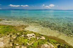 Paisaje marino egeo Imagen de archivo