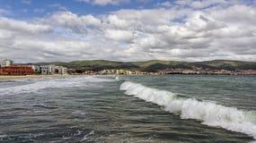 Paisaje marino, el Mar Negro Imágenes de archivo libres de regalías