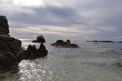 Paisaje marino en Cabo Imagenes de archivo