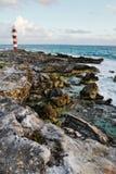 Paisaje marino en Cancun, México Imagen de archivo