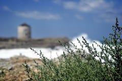 Paisaje marino en Dodekanese Grecia. Foto de archivo