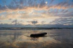 Paisaje marino en Francia Fotos de archivo