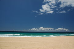 Paisaje marino en Kauai fotografía de archivo libre de regalías