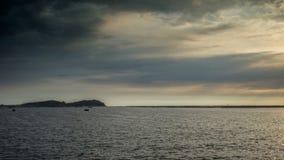 Paisaje marino en Tailandia Foto de archivo