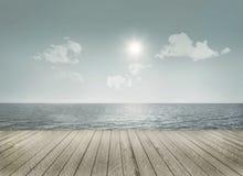 Paisaje marino en un día agradable Imagen de archivo libre de regalías