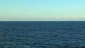 Paisaje marino escénico almacen de metraje de vídeo
