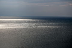 Paisaje marino espectacular en día vergonzoso Imágenes de archivo libres de regalías