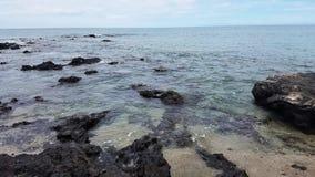 Paisaje marino grande de Hawaii de la isla Imagen de archivo libre de regalías