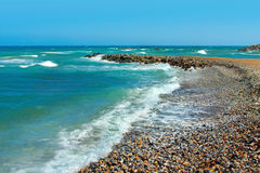Paisaje marino, Griego, el Crete fotos de archivo libres de regalías
