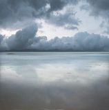 Paisaje marino hermoso Imagen de archivo libre de regalías