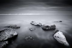 Paisaje marino hermoso Foto de archivo libre de regalías