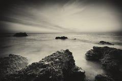 Paisaje marino hermoso Fotografía de archivo libre de regalías