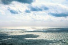 Paisaje marino hermoso en el Océano Atlántico Fotos de archivo libres de regalías