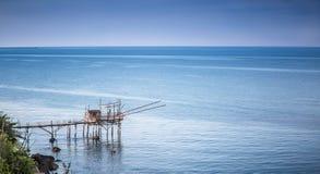 Paisaje marino: Italia, Abruzos, S Vito Chietino Foto de archivo libre de regalías