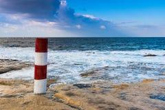 Paisaje marino mediterráneo Imágenes de archivo libres de regalías