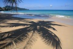 Paisaje marino, playa de Surin, Phuket Foto de archivo libre de regalías