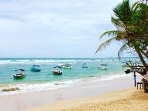 Paisaje marino, Sri Lanka Foto de archivo libre de regalías