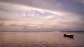 Paisaje marino tranquilo Fotos de archivo libres de regalías