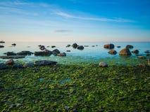 Paisaje marino tranquilo hermoso Foto de archivo libre de regalías