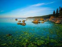 Paisaje marino tranquilo hermoso Fotografía de archivo