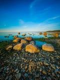 Paisaje marino tranquilo hermoso Fotos de archivo