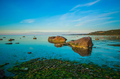 Paisaje marino tranquilo hermoso Imagen de archivo