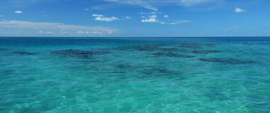Paisaje marino tropical Imagenes de archivo