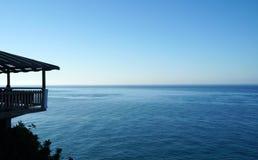 Paisaje marino turco en Turquía Fotografía de archivo