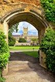 Paisaje medieval del baño de la ciudad, Somerset, Inglaterra Fotografía de archivo libre de regalías
